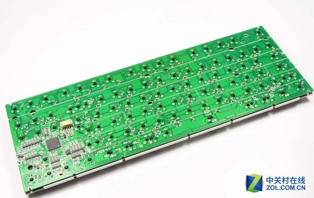 取消了PCB板 薄膜键盘内部都有啥?