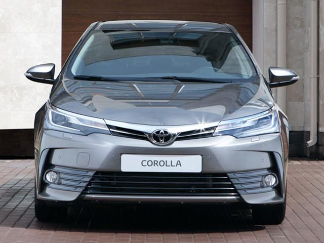 家轿丰田卡罗拉 与千元智能后视镜更配