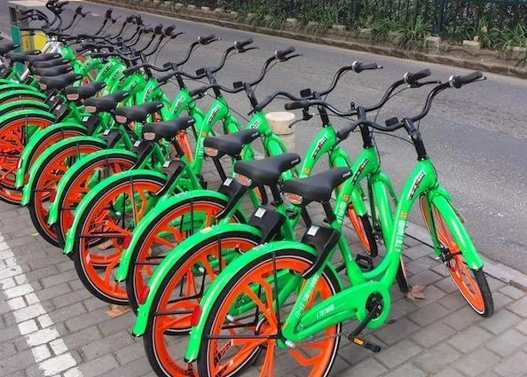对不起 那些长得丑的单车都已经倒闭了