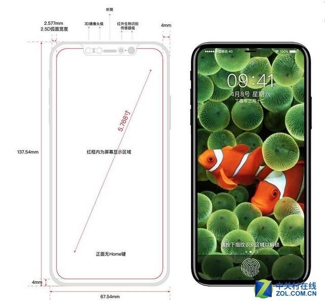 重磅消息:iPhone 8独家真机曝光 沸腾了