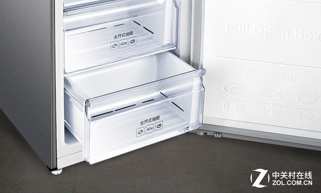 风冷无霜大容量!三星双门冰箱京东仅售2899元