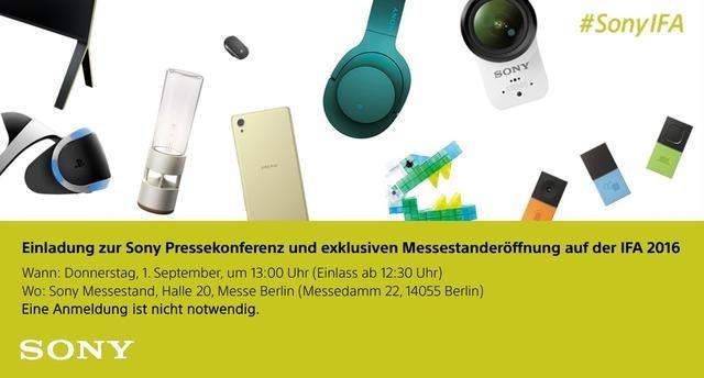 索尼旗舰Xperia XZ将至:9月1日开发布会