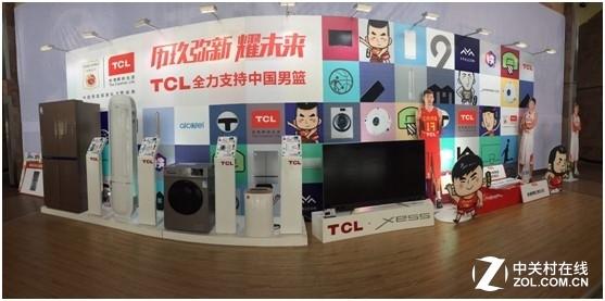 征战亚洲杯 TCL冰洗与中国男篮一起放肆青春