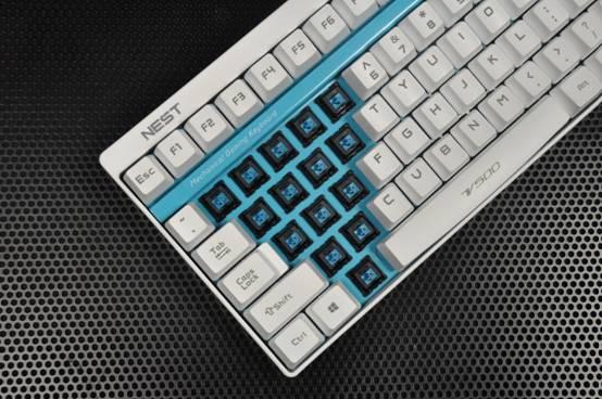 雷柏推出nest主题版v500专业电竞机械键盘