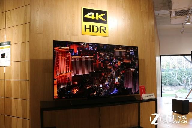 黑科技降临 索尼4K HDR新品电视登上海