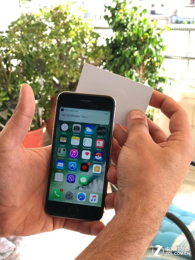 iPhone 6s的NFC功能 被越狱高手破解