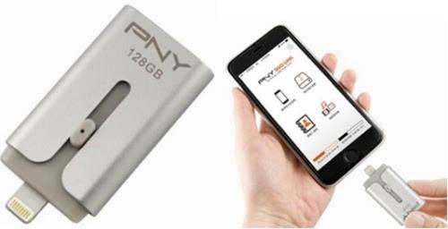 PNY Duo-Link 双接口苹果专用神器!