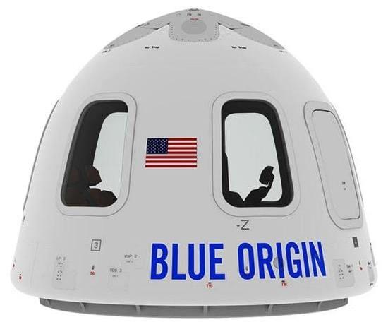 航天也直播 看蓝色起源火箭逃生舱测试