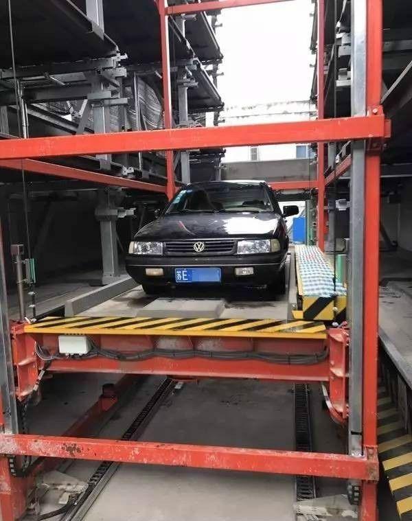 30秒停车 全国首个磁悬浮车库亮相苏州