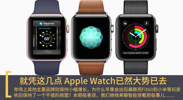 就凭这几点 Apple Watch已然大势已去