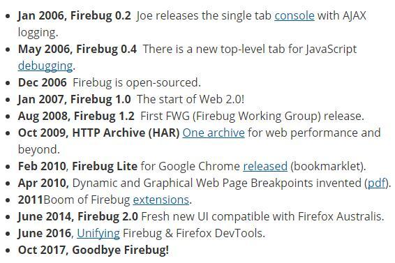 Firebug寿命终结 整合到火狐开发工具