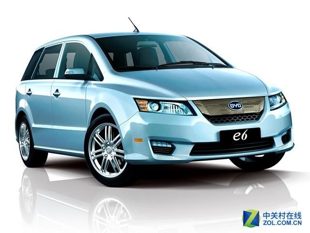 汽车科技 应用 电动车 > 正文  4续航300km比亚迪e6电动车 比亚迪e6