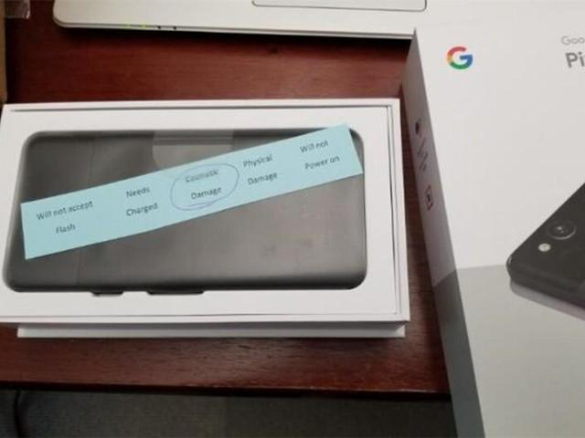 谷歌惹了大麻烦!用户竟收到质检不过关Pixel 2