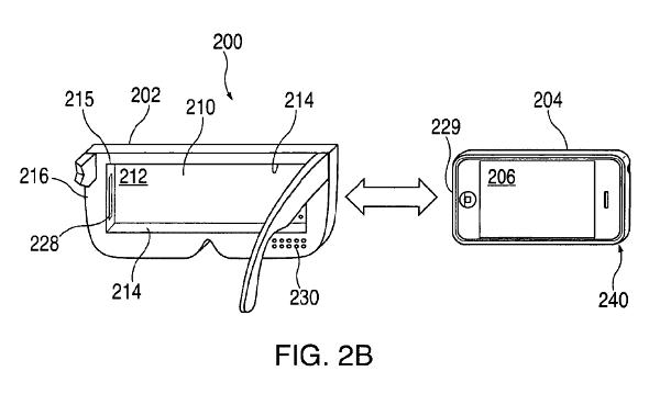 Apple新专利曝光 iPhone用VR装置似Gear VR