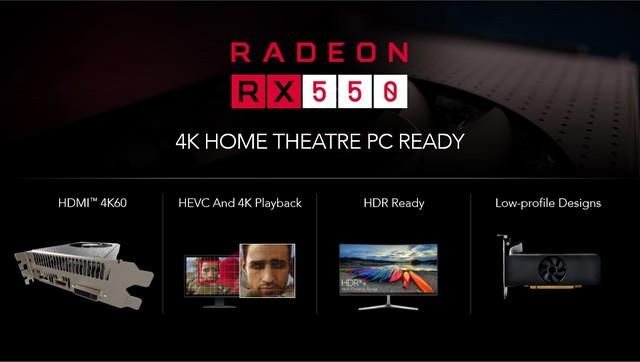 完胜1030的诚意之作 Radeon RX 550首测