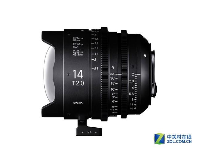 适马发布14mm和135mm电影镜头