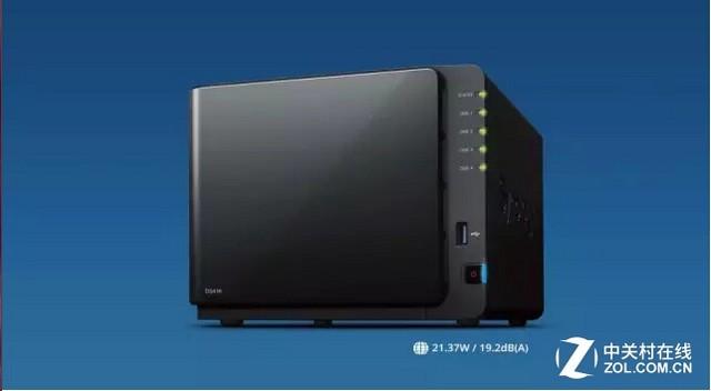 新品:DiskStation DS416传输速度加倍