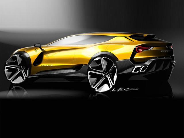 法拉利首辆SUV计划曝光 预计2021年发布