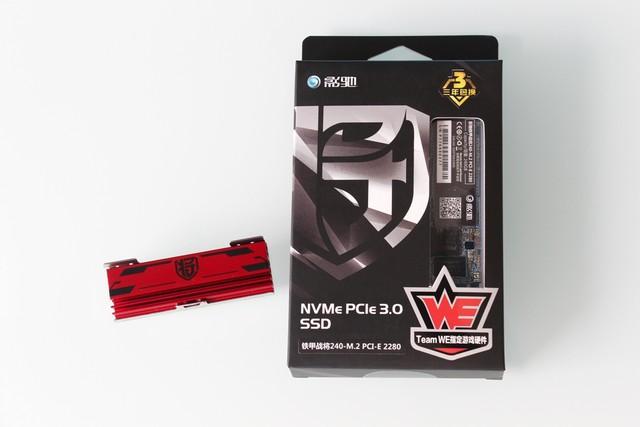 影驰铁甲战将240-M.2 PCI-E SSD首测