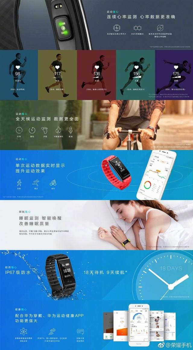 199元:荣耀畅玩手环A2发布 大屏功能更完备