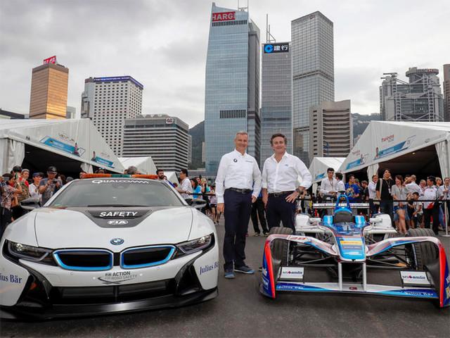 宝马将参加Formula E电动方程式赛车