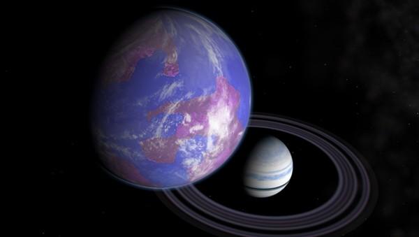 天啦噜 科学家4000光年外发现地外卫星
