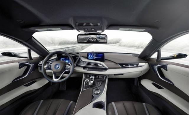 宝马研发新技术 取代传统汽车后视镜