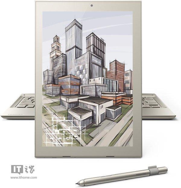 东芝推12英寸Win10二合一平板dynaPad