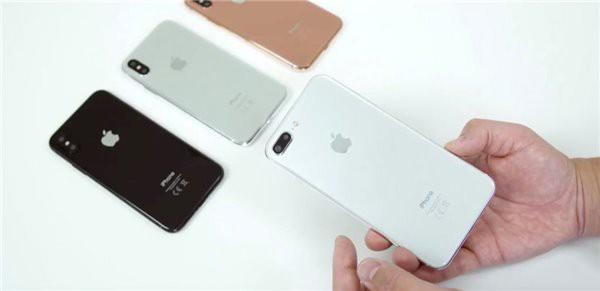 苹果自家率先对比 7s Plus和8谁更好看