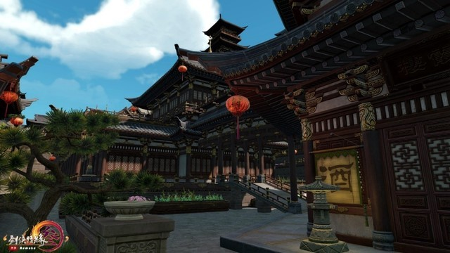 英伟达助《剑网3》重制版开启技术测试