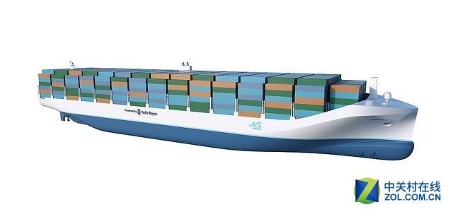 世界第一艘无人货船将问世 劳斯莱斯也造船