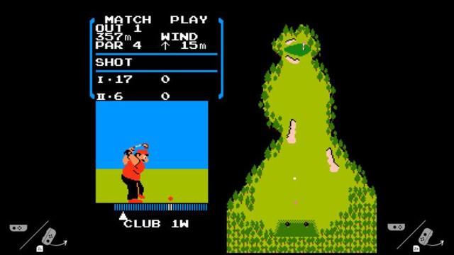 Switch主机揭秘 竟暗藏红白机Golf游戏!