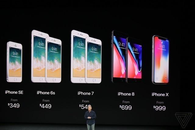 苹果iPhone X成本曝光 一部只有2706元
