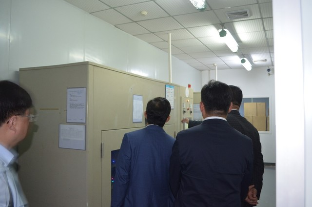 江苏南通政府考察团莅临嘉合劲威