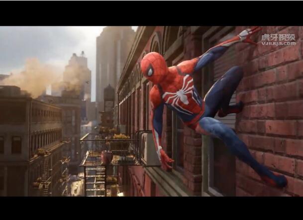 蜘蛛侠 首个预告片 PS4独占游戏
