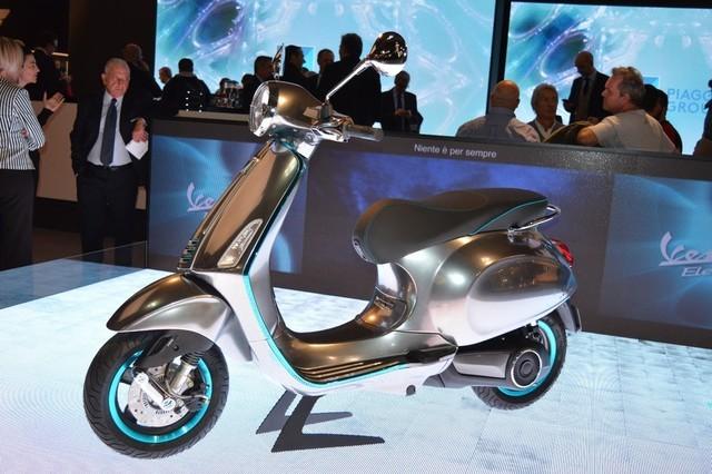 告别踏板油摩 Vespa电动车新品明年开售