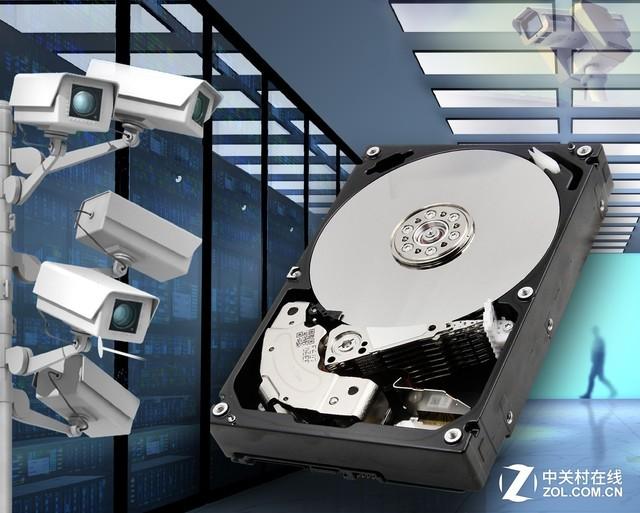 东芝发布10TB监控硬盘:365天不停工