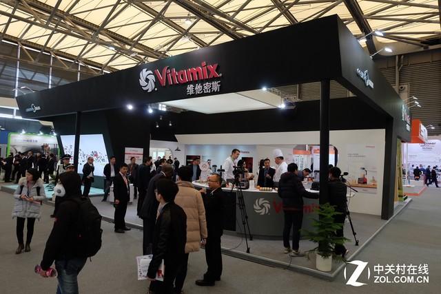 美国百年调理大师Vitamix亮相AWE 万份鲜榨饮品免费品