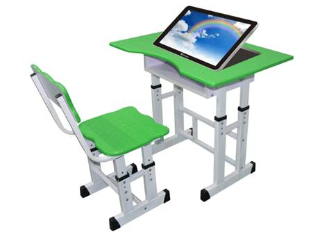 沧龙公司创意电子课桌图片