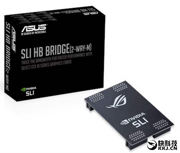 华硕开卖SLI HB桥:土豪缺显卡配件吗?