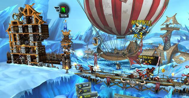 塔防游戏《城堡风暴》8月1日登陆PS VR