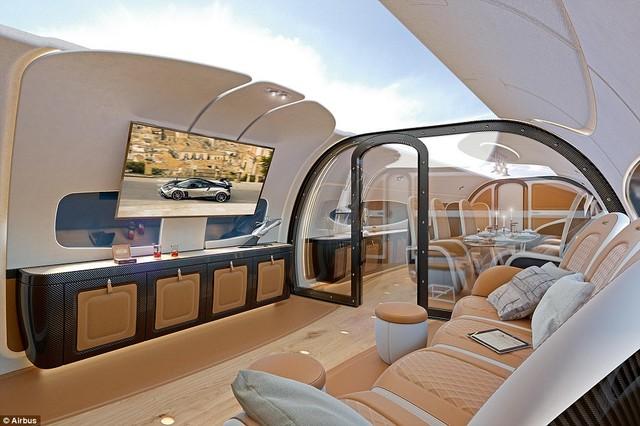 斥资1亿美元 空客公布可观星的私人飞机