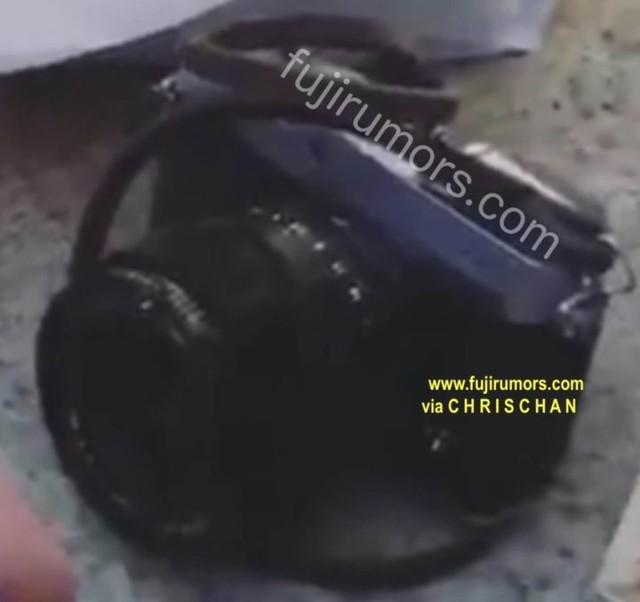 9月发布会见? 富士X-E3新谍报照片