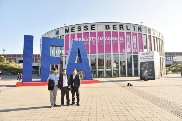 威视达康亮相德国IFA展,智能安防走向世界