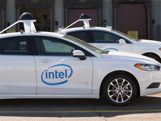 英特尔将在欧美路试100辆无人驾驶车队