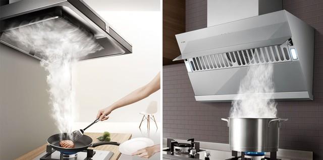 让厨房空气清新的秘密 原来关键是选对油烟机
