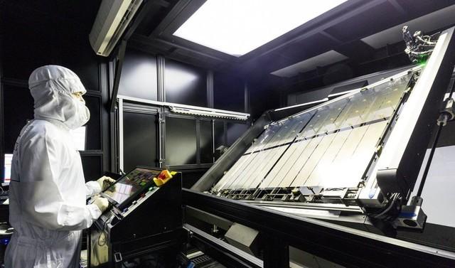 正式超越韩国 中国大尺寸面板出货世界第一