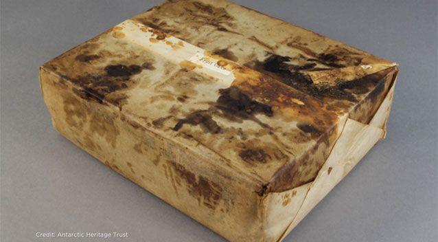 南极洲发现106年前蛋糕 几乎可以食用