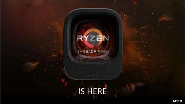 抢占性能巅峰 AMD发布锐龙 Threadripper