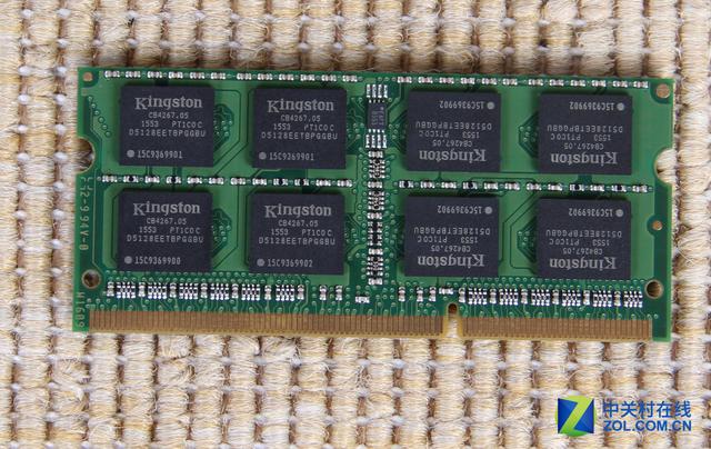 金士顿DDR3 1600 8GB笔记本内存评测